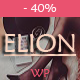 Elion - Personal WordPress Blog Theme - ThemeForest Item for Sale