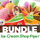 Ice Cream Shop Flyers Bundle