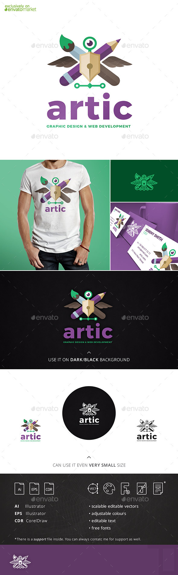 Artic logo Template - Objects Logo Templates