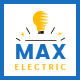 Max Electric - Electrician HTML Template - ThemeForest Item for Sale