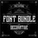 Font Bundle Decorative - GraphicRiver Item for Sale