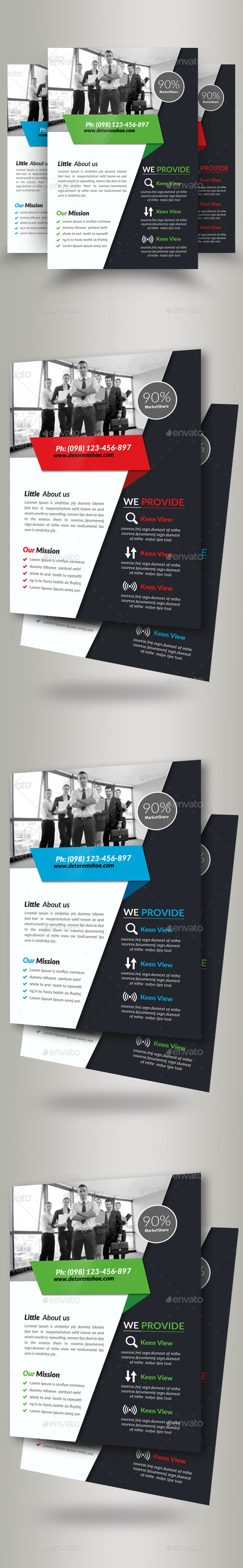 Business Corporate Agency Flyer - Corporate Brochures