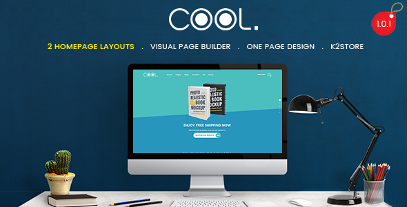 TheCool – Drag and Drop Multipurpose eCommerce Joomla Template