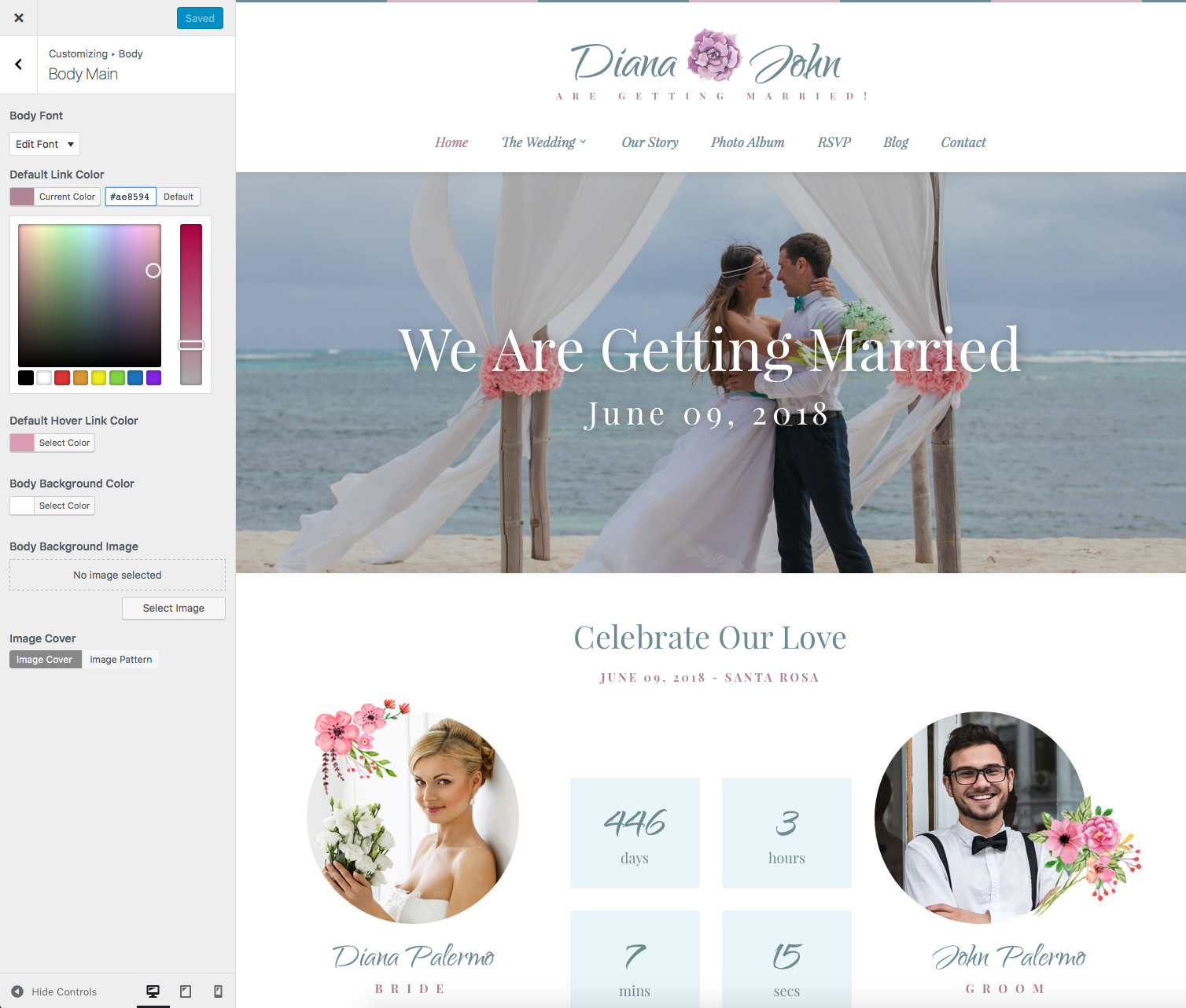 Special Day Wedding Day Planner Event Theme by ProgressionStudios