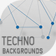 Techno Backgrounds - GraphicRiver Item for Sale
