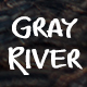 Gray River Font - GraphicRiver Item for Sale