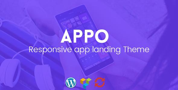 Appo – Responsive App Landing Theme