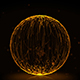 Crystal Ball With Fire Trails - VideoHive Item for Sale
