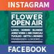 Summer Event Facebook and Instagram Banners - GraphicRiver Item for Sale