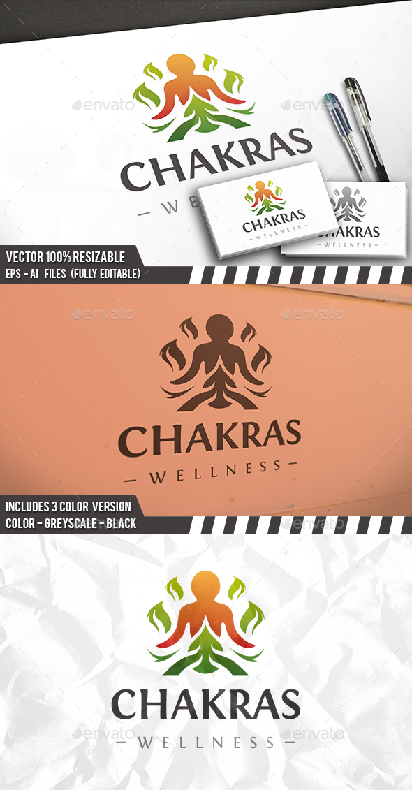 Chakra Logo - Humans Logo Templates