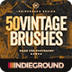 50 Vintage Brushes Set Vol. 3 - GraphicRiver Item for Sale