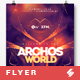 Archos World - Trance Party Flyer / Poster Template A3