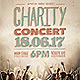 Charity Concert Flyer - GraphicRiver Item for Sale