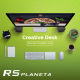 Creative Desk Scene Creator - GraphicRiver Item for Sale