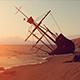 Sailing Ship Crashed