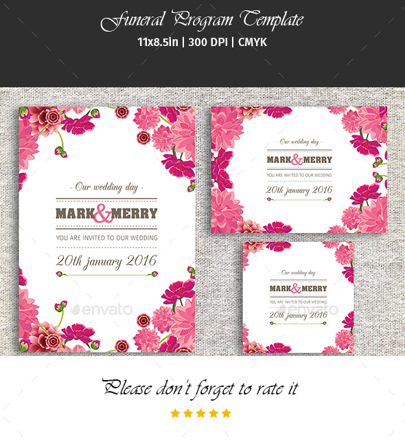 Wedding Invitation Card  Digital Wedding Card Template
