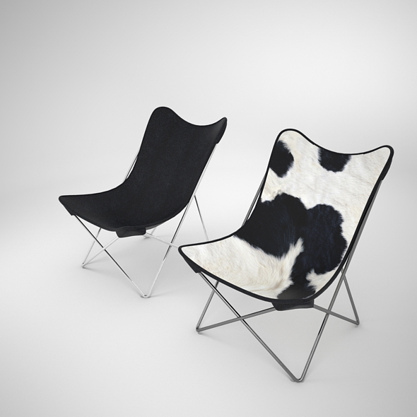 BKF Butterfly Chair - 3DOcean Item for Sale