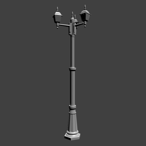 Old street lamp - 3DOcean Item for Sale