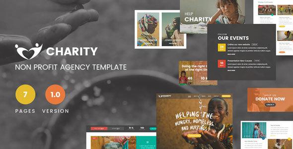 Charity Foundation - Charity Hub PSD Template