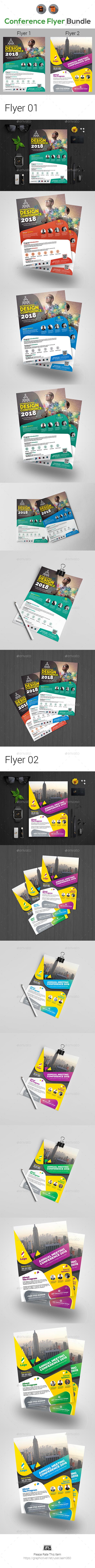 Conference Flyer Bundle V2 - Events Flyers