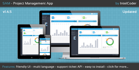 SAM - Project Management App - CodeCanyon Item for Sale