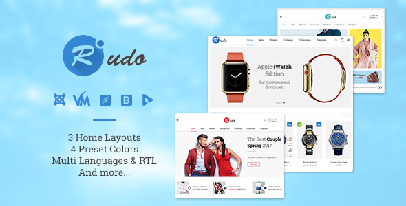 Vina Rudo – Multipurpose Virtuemart Joomla Template