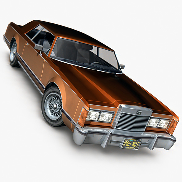 Mercury Cougar - 3DOcean Item for Sale