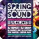 Spring Sound Flyer - GraphicRiver Item for Sale