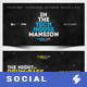 Electronic Music Party vol.17 - Facebook Post Banner Templates