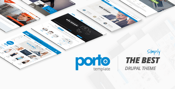 Porto - Ultimate Responsive Drupal 7 & 8 Theme - Business Corporate