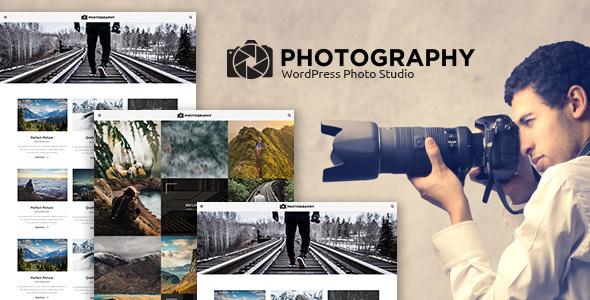 MT Photography - Eye-catching, Unique Photography WordPress Theme - Photography Creative