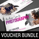 3 in 1 Photography Studio Gift Voucher Bundle 04 - GraphicRiver Item for Sale