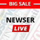 Newser - The Multiuse Drag and Drop News/Magazine WordPress Theme Nulled