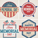 Memorial Day /  July 4th Badges