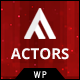 Actors - WordPress CMS Theme for Model Agencies