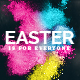 Easter Sunday Church Template Set - Vibrant - GraphicRiver Item for Sale
