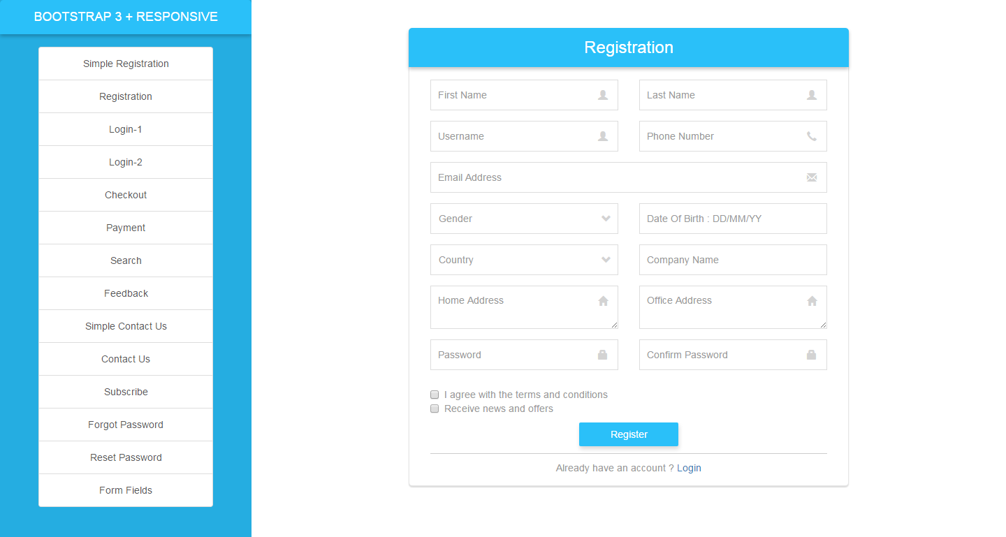Responsive html5 forms with bootstrap 3 by uneekcc1 codecanyon screenshots1g falaconquin