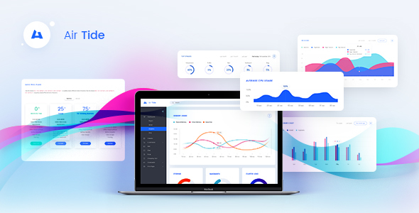 Air Tide — Admin PSD Template