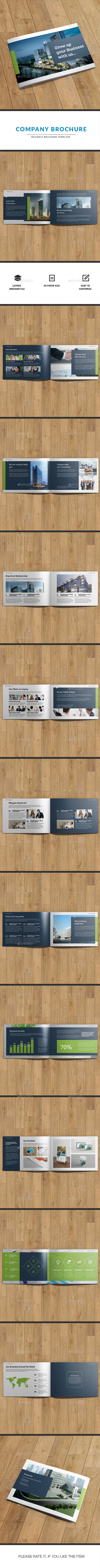 Company Brochure | Indesign Template - Corporate Brochures