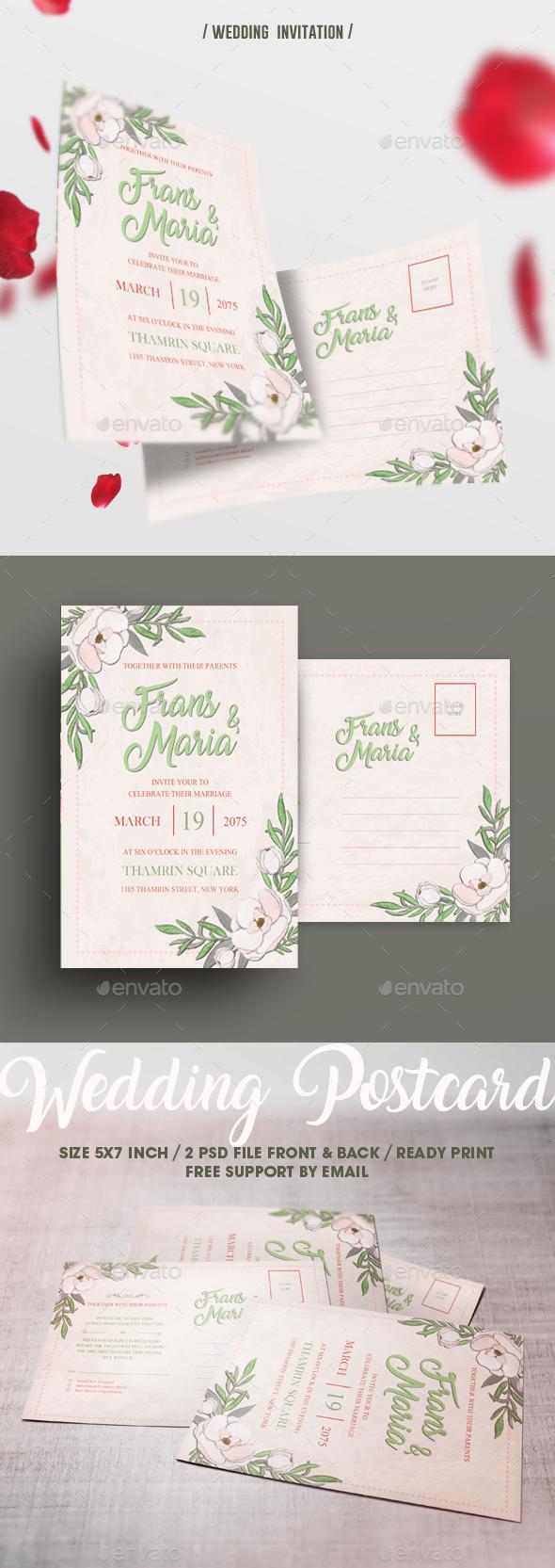 Simple Wedding Invitation - Weddings Cards & Invites