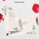 Simple Wedding Invitation - GraphicRiver Item for Sale