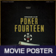 Poker Fourteen Movie Poster - GraphicRiver Item for Sale