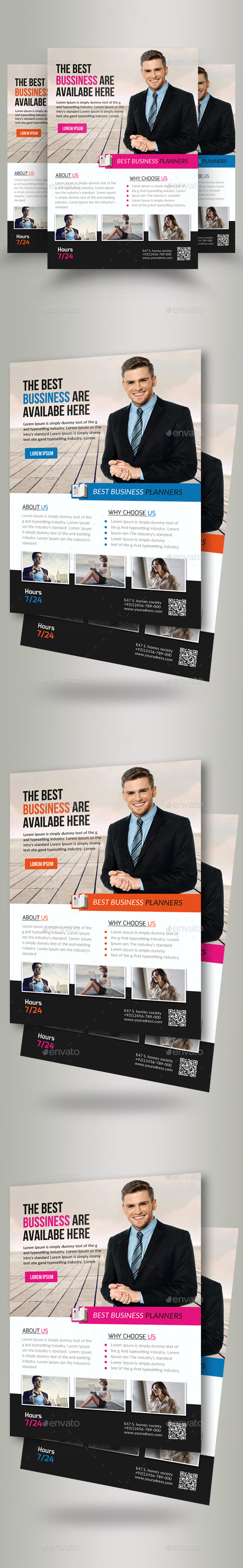 Business Executive Coach Flyer - Corporate Flyers