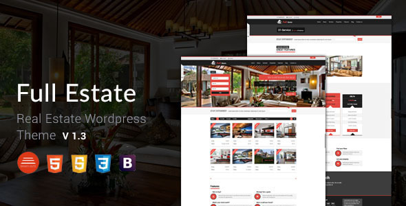 Full Estate - Wordpress Real Estate Theme