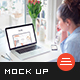 Photorealistic Website Mockup - GraphicRiver Item for Sale