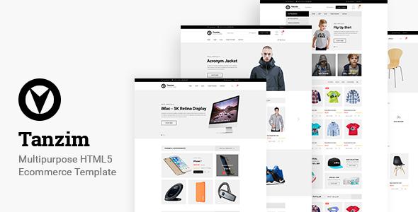 Tanzim – eCommerce HTML5 Template