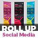 Social Media Marketing Roll Up Banner V2