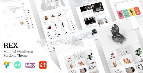 Rex – Minimal WordPress Portfolio Theme