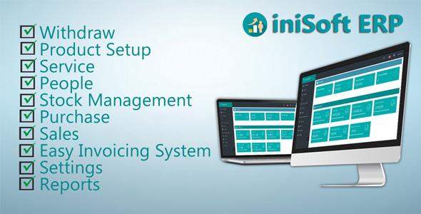 iniSoft ERP ( Advance POS  & Stock Inventory ) - CodeCanyon Item for Sale