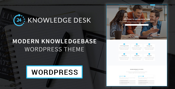 Knowledgedesk – Knowledge Base WordPress Theme